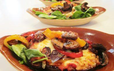 Amazing Eggplant Parmesans