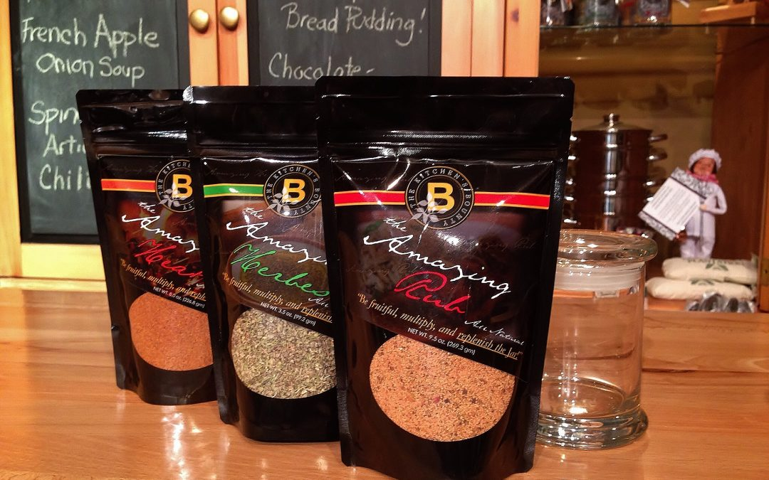 The Kitchen's Bounty Rubs & Seasonings–They're Coming Back!