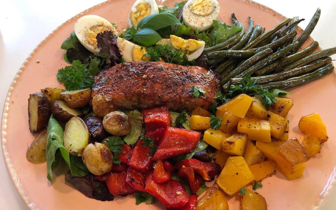 Harvest Salad Nicoise (with Salmon)