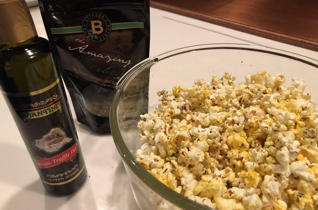 Herb and Truffle Popcorn