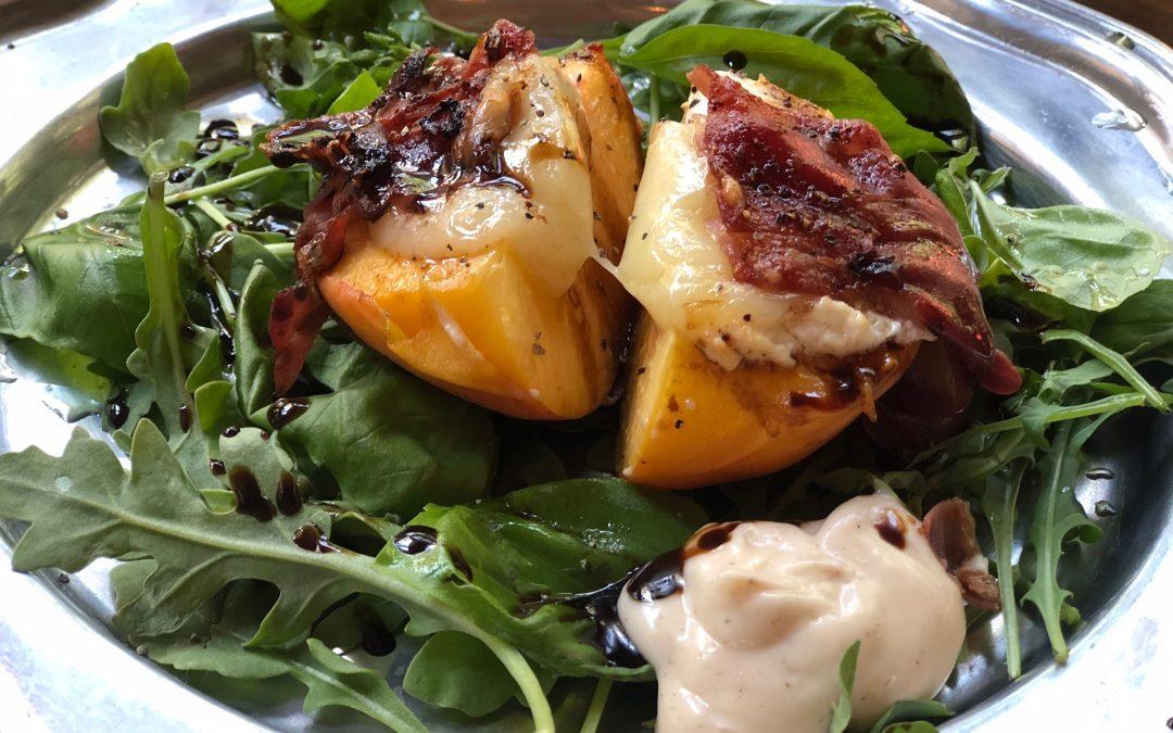 Bursting Peach Starter or Salad