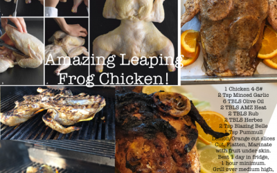 Amazing Leaping Frog Chicken