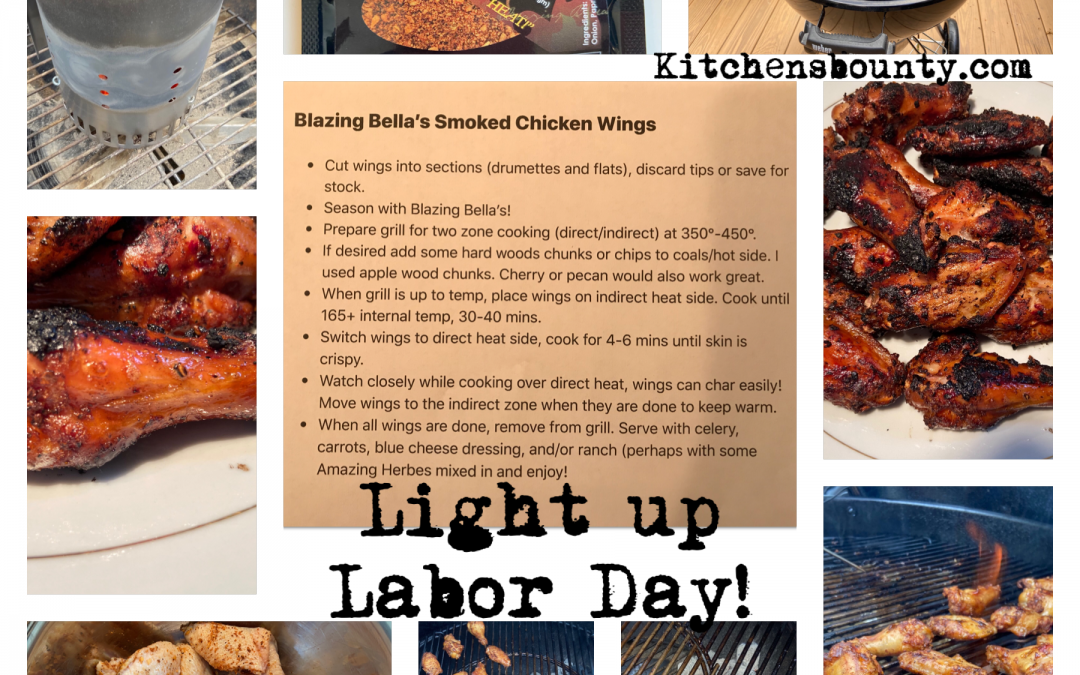 Blazing Bella's Smoked Chicken Wings