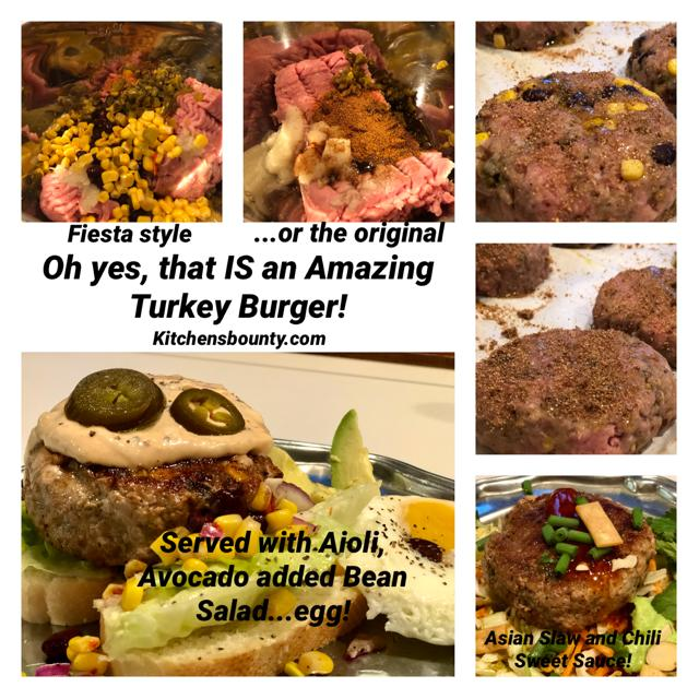 The Amazing Turkey Burger Upgraded
