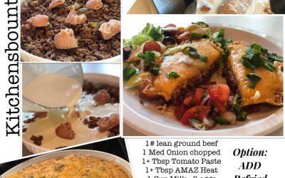 Old School Taco Pie–a twist on Taco Tuesday!